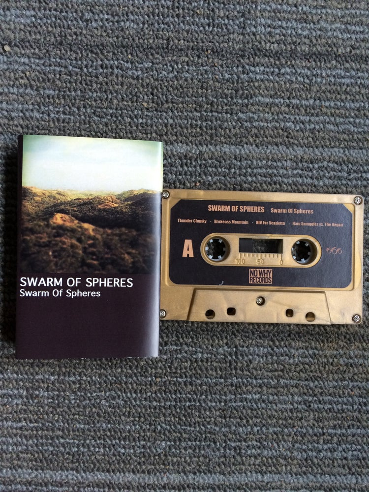 Image of SWARM OF SPHERES: s/t Cassette (w/free download)