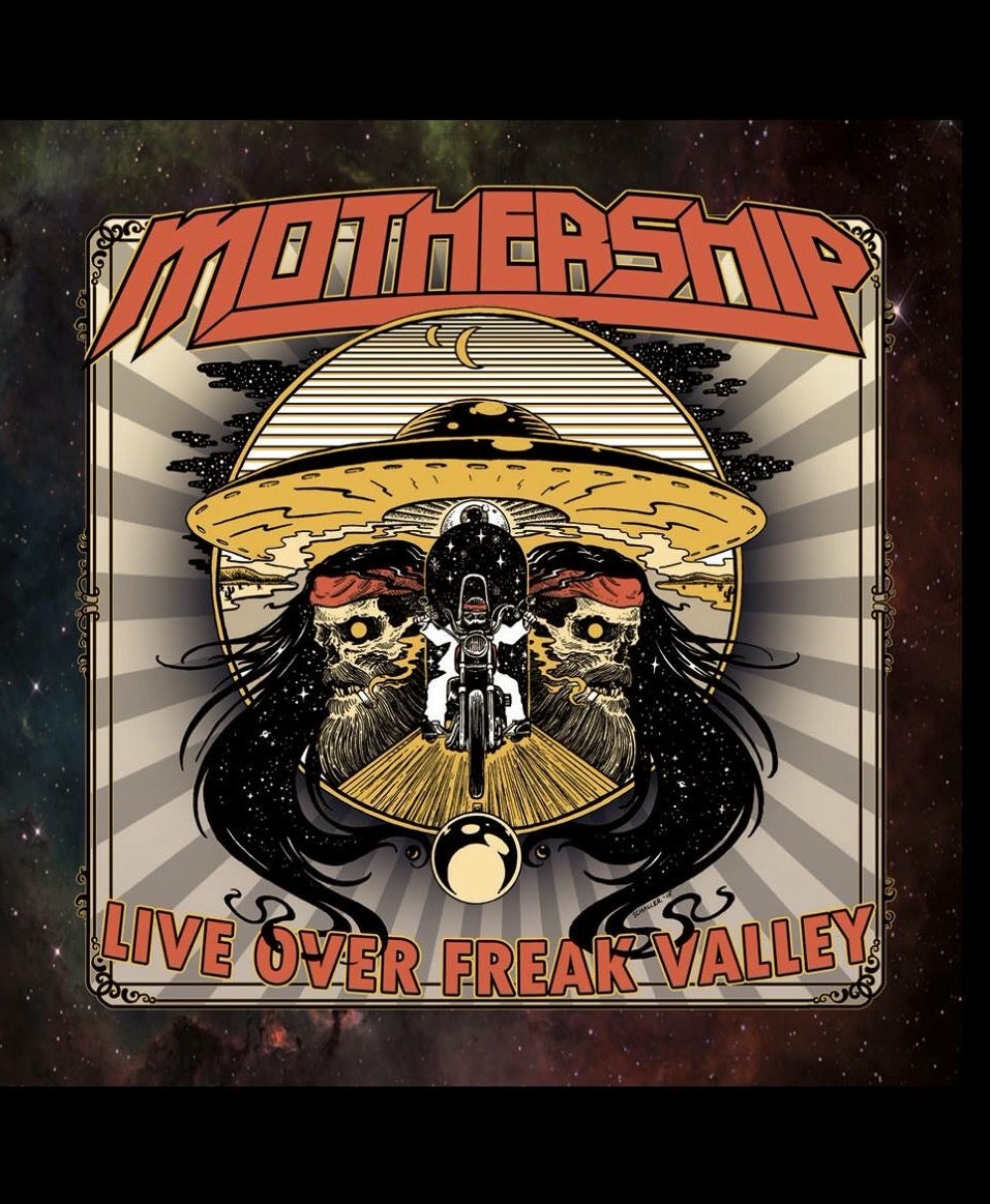 Image of Mothership - Live Over Freak Valley CD