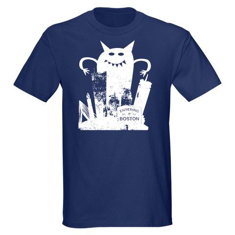 Image of Monster VS Boston Adult Unisex T-Shirt