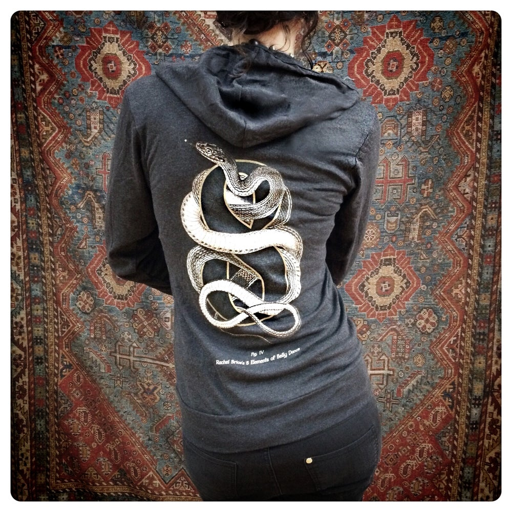 "Image of ""Snake-Eight"" Light Weight Hoody"