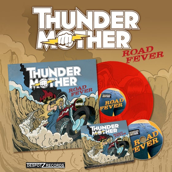 Image of Thundermother - Road Fever [CD/ RED VINYL]