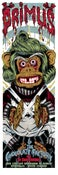 Image of PRIMUS OOMPA MONKEY gigposter - candy concert version
