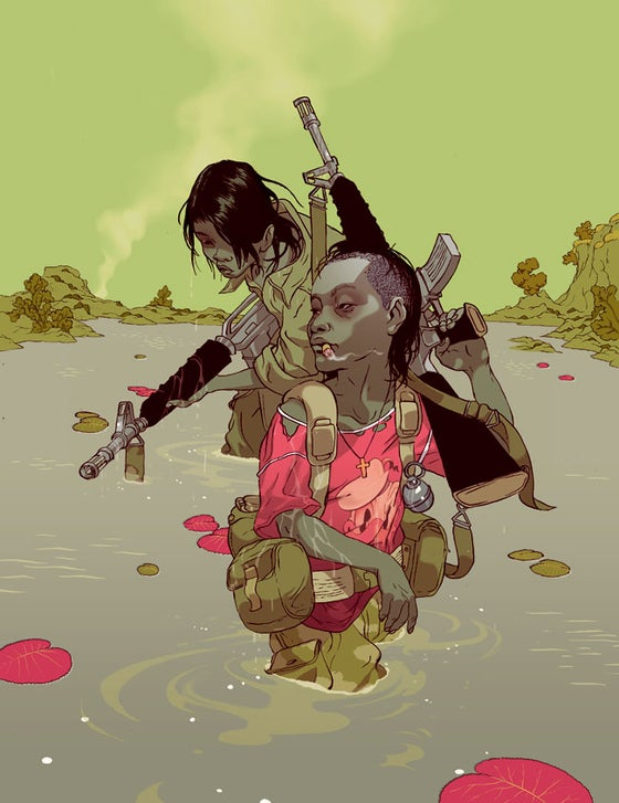 Image of Tomer Hanuka's 'From God's Mountain' (Gallery Edition)