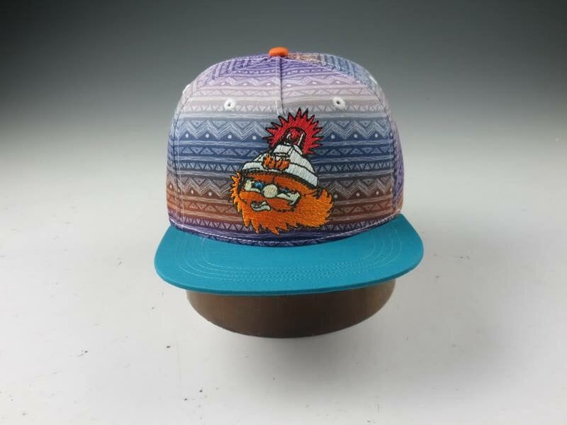"""Image of Moments Collection Flat Brim Snapback-#3 in a series """"Ziggy"""""""