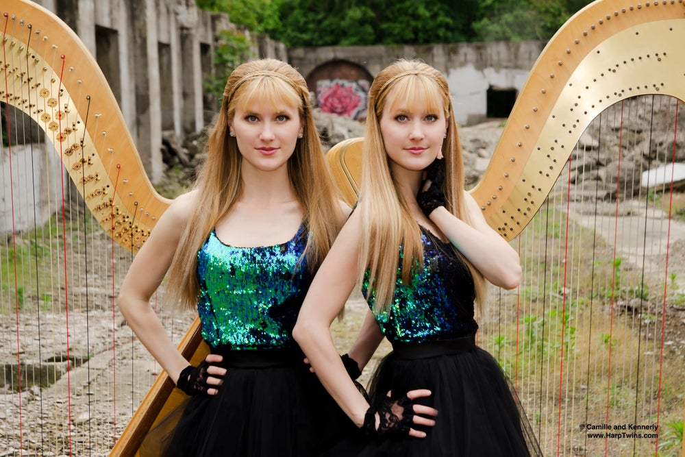 Image of Harp Twins - 4 Poster Collection (AUTOGRAPHED)