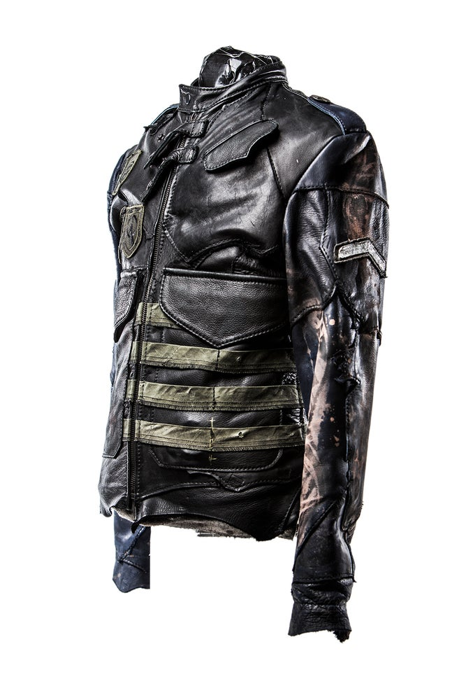 Image of Junker Designs Men's Leather Officer's Jacket