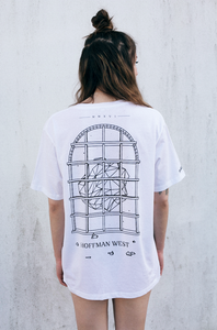Image of 'Hoffman West' T-Shirt pt.2 (White)