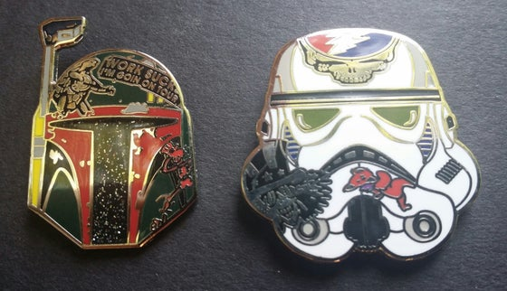 Image of Even Bad Guys Do Tour (2 pins)