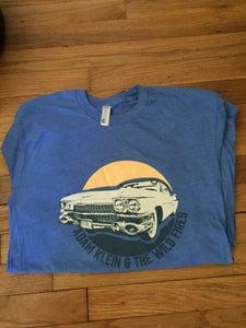 """Image of Adam Klein & The Wild Fires """"DeVille"""" T-shirt"""