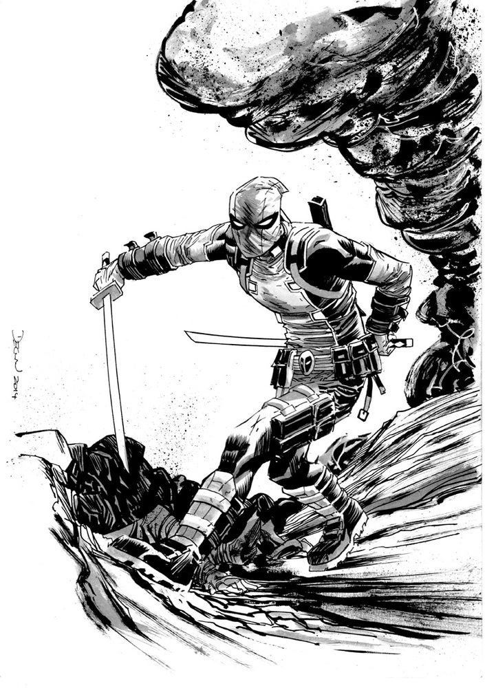 Image of Declan Shalvey C2E2 2017 Pre-Show Commission (PICK UP ONLY)