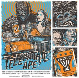 Image of The Telepathic Ape - (AP series)