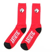 Image of Artistic Boogie Socks - Red/Black