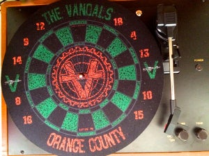 Image of The Vandals: Dart Board Slipmat