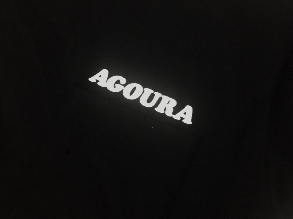 Image of Agoura Lover - Pocket Tee Black/White