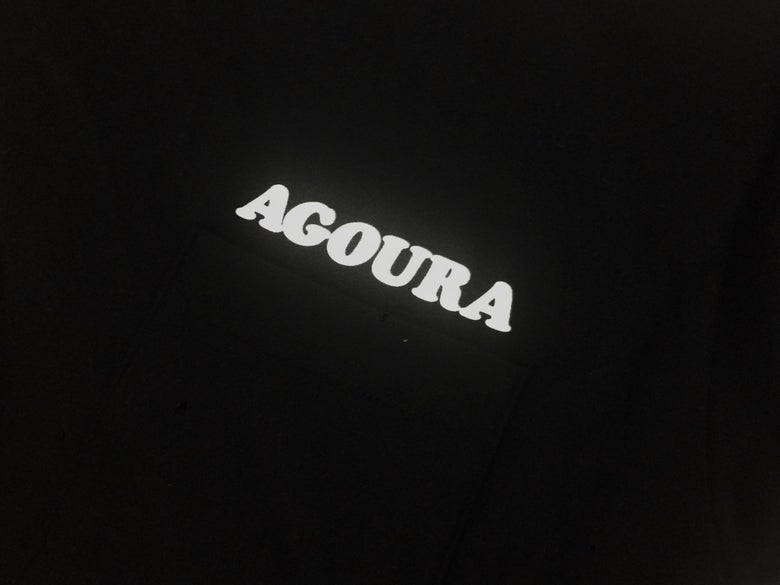 Image of Agoura Lover - Pocket Tee Black/White