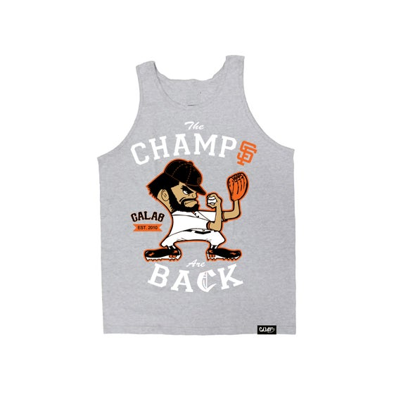 Image of Champs Tank - Heather Gray