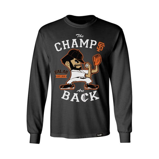 Image of Champs L/S - Black