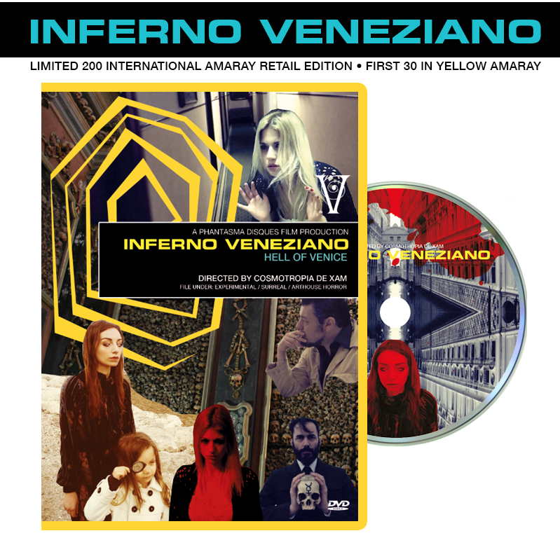 Image of Inferno Veneziano DVD (International Retail Amaray Version)