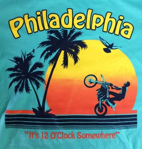 Image of It's 12 O'Clock Somewhere - tshirt