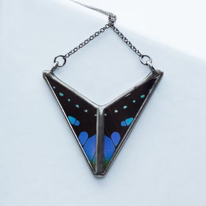 Image of Hart-Variations Triangle Chevron necklace