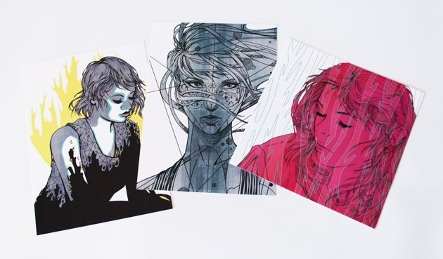 Image of Print Batch - Swirls