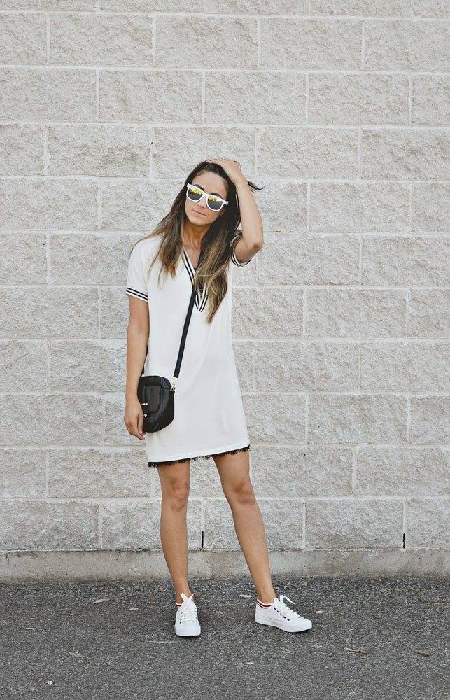 Image of White Mini Dress