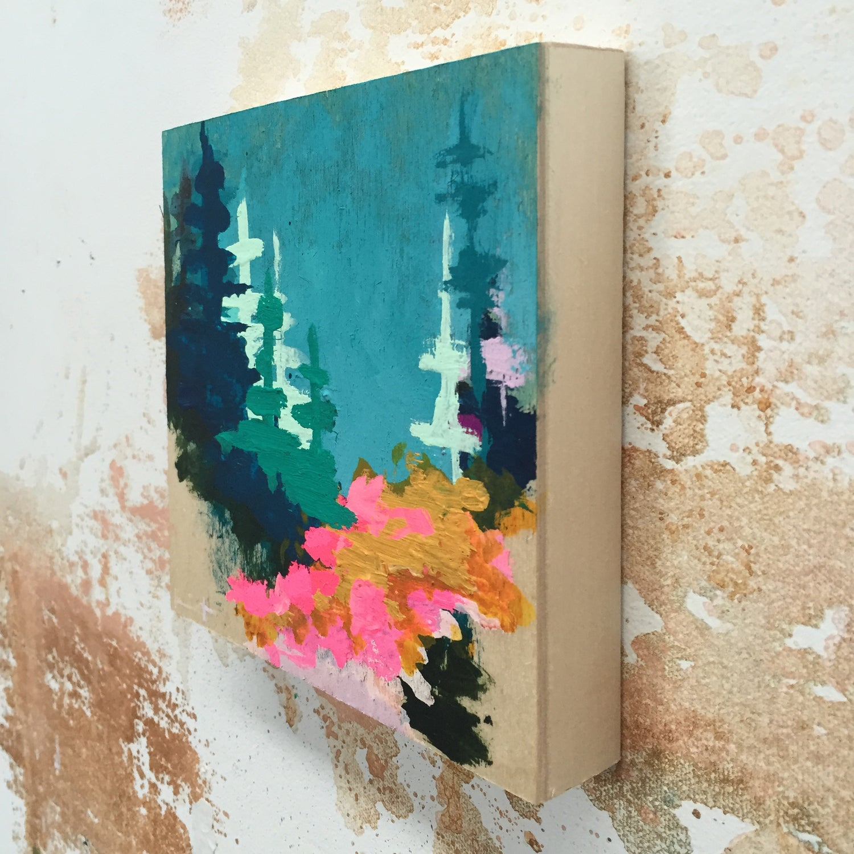 Image of Tiny Painting No. 23 (sky, mustard, opera)