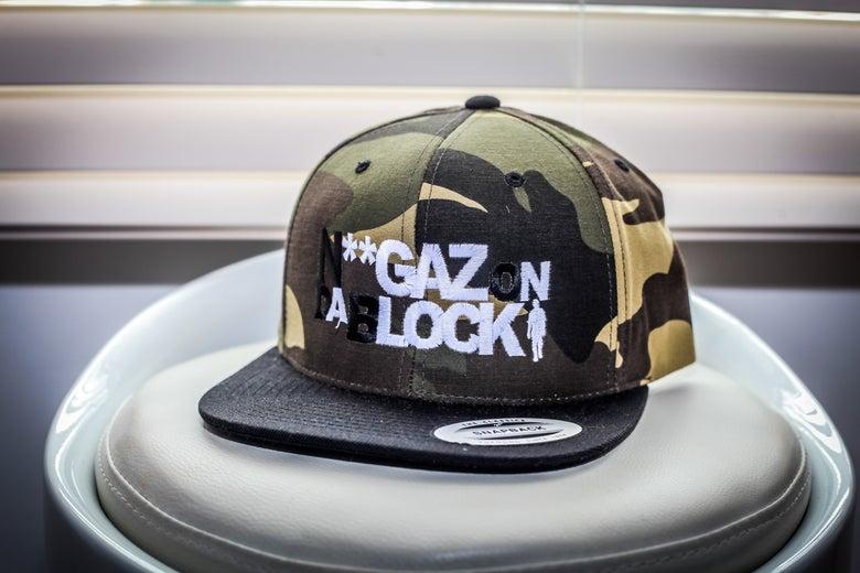 Image of Niggaz On Da Block SnapBack (CAMO)