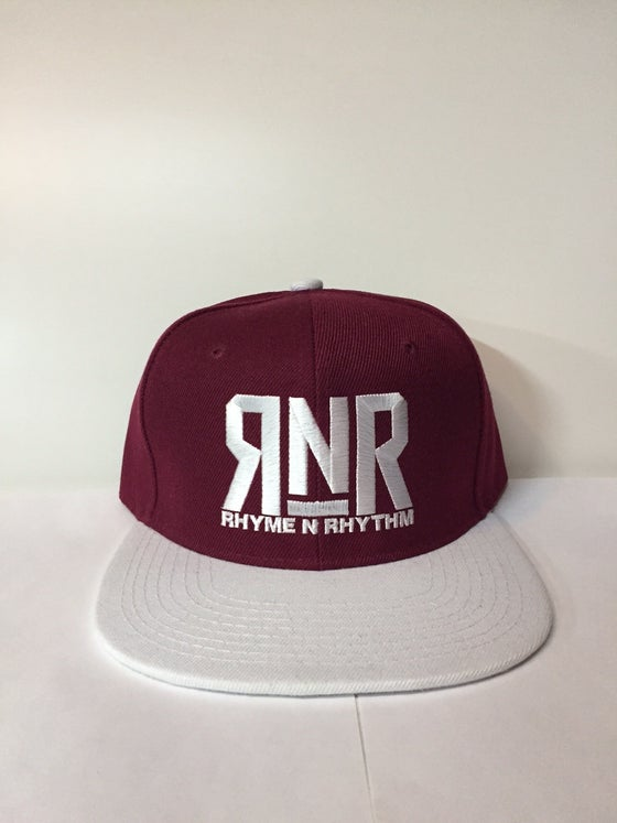 Image of RNR - Snapback - RON BURGUNDY EDITION