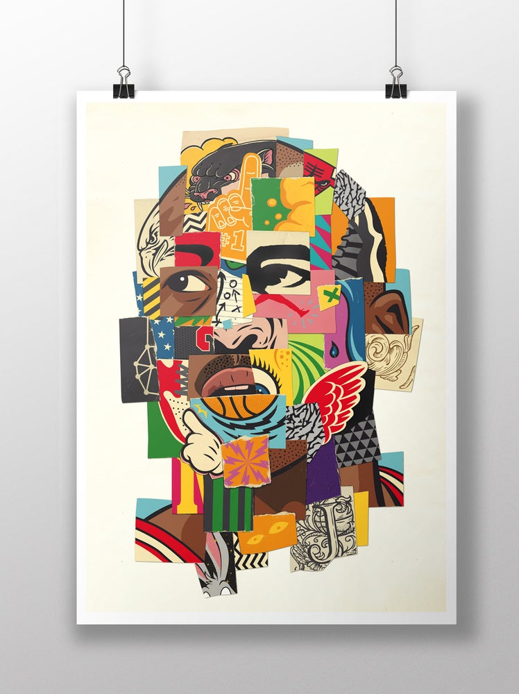 "Image of ""23"" giclee´print"