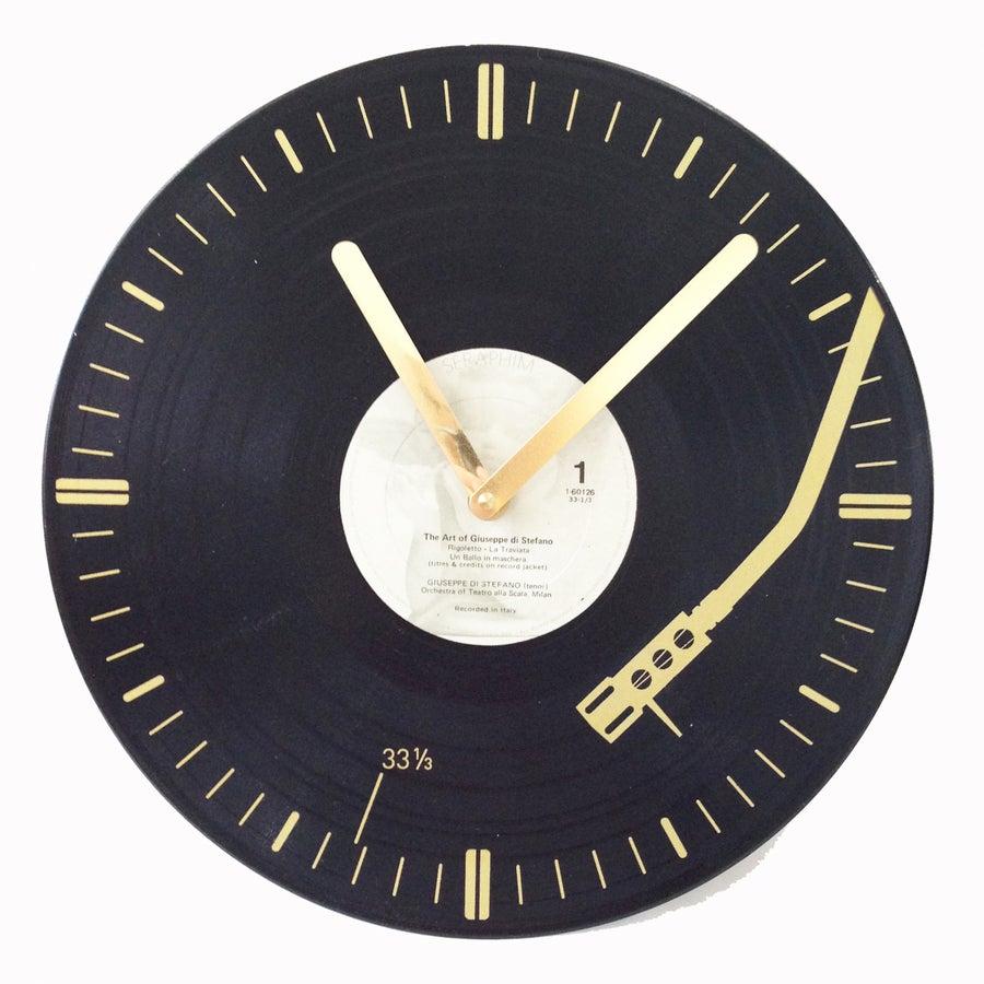 Image of Turntable Arm Clock