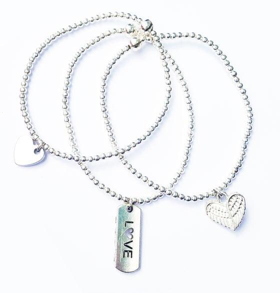 Image of Kool Jewels Set of 3 Stackable Bracelets (or buy individually)