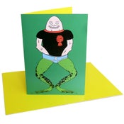 Image of Frogman (greeting card)
