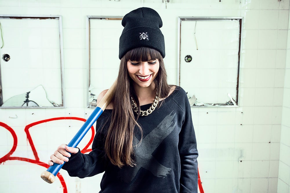 Image of X - BLACK ON BLACK -  SWEATER GIRL