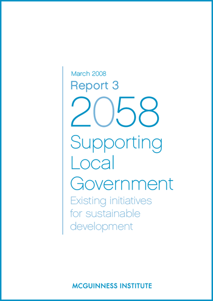 Image of Report 3 - Supporting Local Government: Existing initiatives for sustainable development