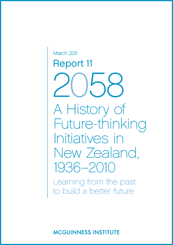 Image of Report 11 – A History of Future-thinking Initiatives in New Zealand 1936–2010