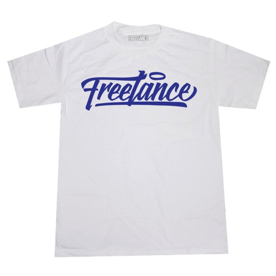 Image of FREELANCE NEW STYLE (ROYAL ON WHITE)