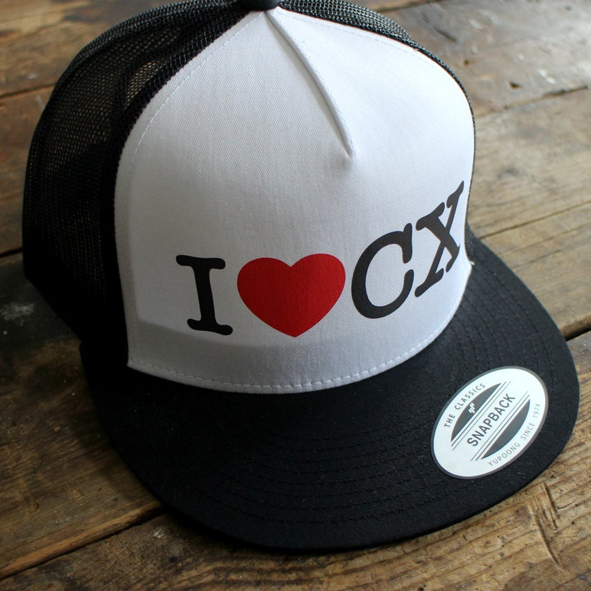 Image of I HEART CX Trucker Cap