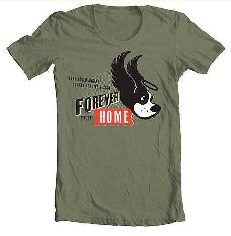 Image of Forever Home T-shirt (by SocialPakt)