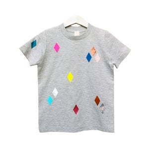 Image of T-Shirt Diamonds grey