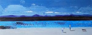 Image of White sand turquoise sea - Arisaig Scotland