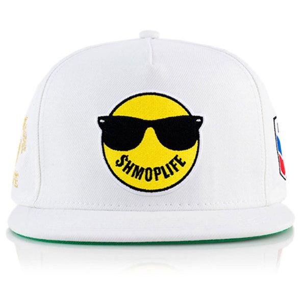 Image of $HMOPLIFE LOGO HAT 2015 (white)