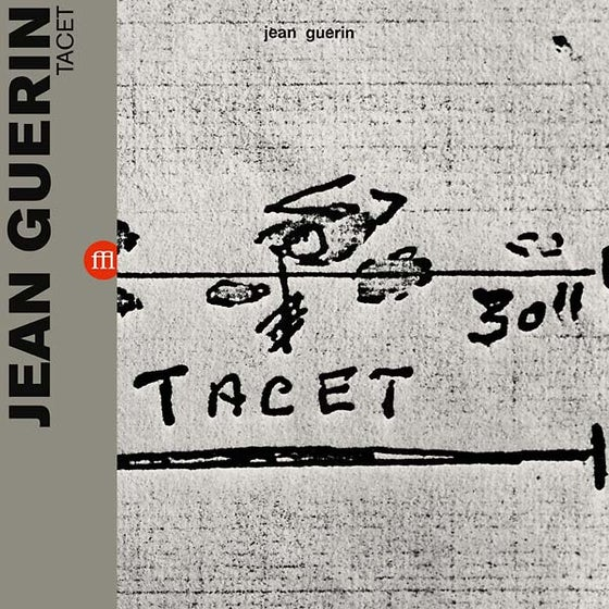 Image of JEAN GUERIN - TACET (FFL009/SON04 - black)