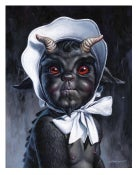 """Image of """"A Little Evil"""" - 11"""" x 14"""" giclee"""