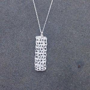 Image of Minaret necklace - silver