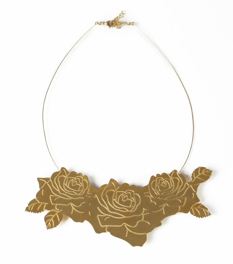 Image of Rose Cluster Necklace