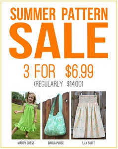 Image of >>>3 HOURS ONLY<<< 3 PDF Pattern for $6.99 (COUPON CODE NEEDED)
