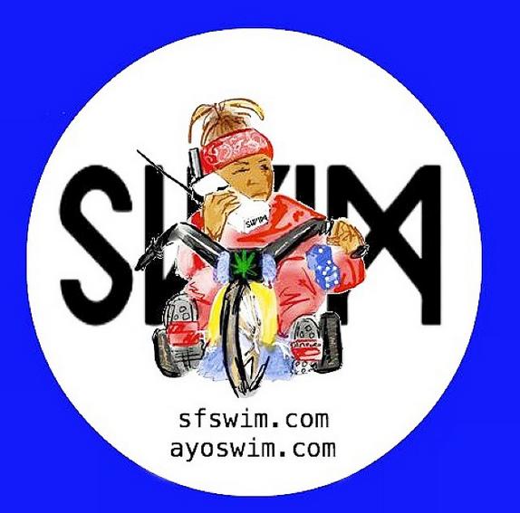 Image of SWIM Bike Sticker 6-Pack