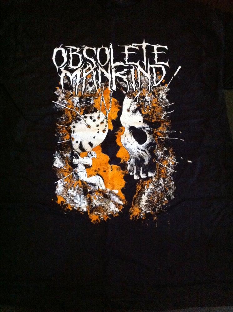 Image of Obsolete Mankind 'False Awakening' t-shirt
