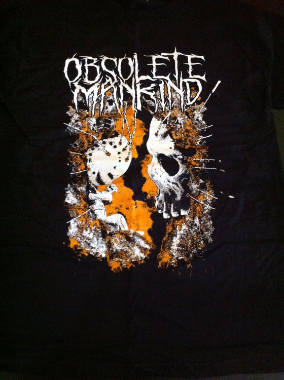 Image of Obsolete Mankind 'False Awakening' t-shirt